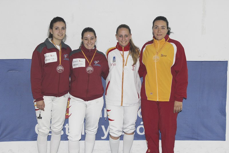 Podio Absoluto femenino 800
